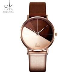 eb2ab84cbc9 SK Shengke hodinky Duro K0095 ROSEGOLD