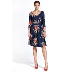 365554c2dcd6 Spoločenské šaty Colett cs27 - tmavomodré