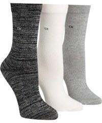 b4717589d71 Calvin Klein dárkový 3 pack dámských ponožek Sparkle Black - 37-41