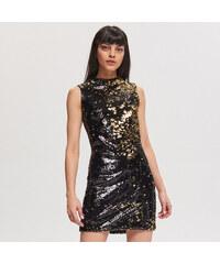 Reserved - Flitrové šaty - Čierna c0e18140c6e