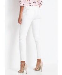 bonprix 7 8 strečové kalhoty s třásněmi 50acb1438a