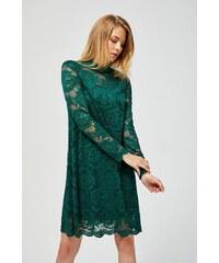 5be5eeb1e4ed Krátké krajkové šaty zelené Amelie - Glami.cz