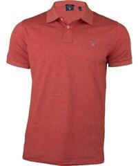 Gant Pánské cihlově červené polo triko Gant 42d295886b