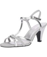 ABOUT YOU Páskové sandály  Lola  stříbrná 5976430ea0