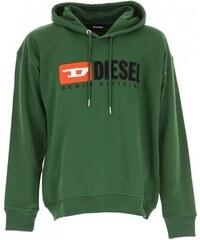 Pánská mikina Diesel S Divosion Felpa zelená 00SH34 0CATK 5HS fcc607981e