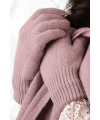 Staroružové dámske rukavice na zimu Kamea 01 64d58f0992
