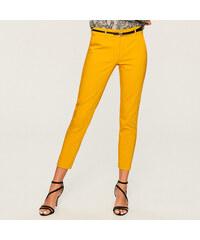 Reserved - Kalhoty s páskem - Žlutá. 649 Kč e500a82f87