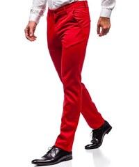 Červené pánske spoločenské nohavice BOLF 3149 cae5b9e5b01
