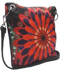 Crossbody kabelka s veselým motivem Tapple černá ad44eda574a