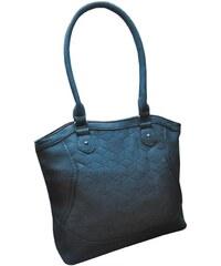 Moderní kabelka z broušené kůže Tapple středně modrá f99d6f8c0f5