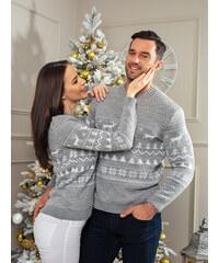 MODANOEMI SET vánočních svetrů pro páry SET2018S ab814c216e