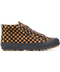 Vans Checkerboard hi-top sneakers - Black 230f4fa67c