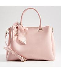 Mohito - Kabelka city bag s ozdobným šátkem - Růžová 84a9cd0f814