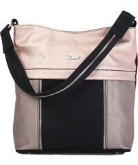 1448 Fekete-Puder-Bronz Karen rostbőr táska. 11 990 Ft 0f9a286817