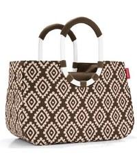 64338645314c Reisenthel Loopshopper M barna gyémánt női bevásárló táska