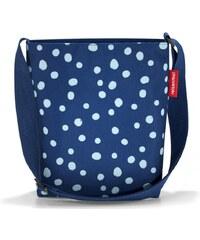Reisenthel Loopshopper M kék pöttyös női bevásárló táska. Termék részlete.  Reisenthel Shoulderbag S kék pöttyös női bevásárló oldaltáska 315d8a56a7