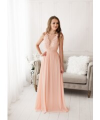 EVA   LOLA Společenské plesové šaty LAETITIA růžové. 1 890 Kč 59b30f5284