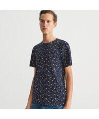 8cf555cfcc Reserved - Mikromintás T-shirt - Tengerészk