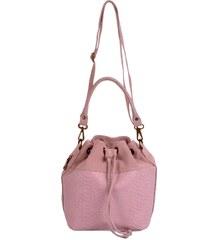 kožená kabelka vak 5264 růžová poslední kus d1e6e8620ee