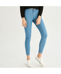 1189b67b877 Sinsay - Skinny džíny se středním sedem - Modrá