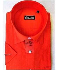 c7c24e8b8d6 Červená pánské košile Tonelli 110801