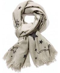 6f0ae308107 Šála Victoria s Secret Night Star šedá
