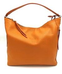 7ac15ac538 Juice Kožená kabelka oranžová
