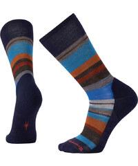9d5e7323972 Ponožky vlněné pánské Smartwool M SATURNSPHERE deep navy h-cardamom