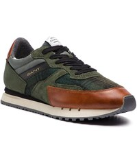 Sneakersy GANT - David 17638843 Green Check Multi G734 bda8dab435
