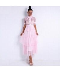 15b70ba96f13 Dolly and Dotty Annie Ružove Čipkované Šaty. Veľkosť len XL. Detail  produktu · Perfect Sexy Retro Průhledné šaty