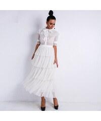 b1b3806c58fe Biele Šaty z obchodu PerfectDress.eu