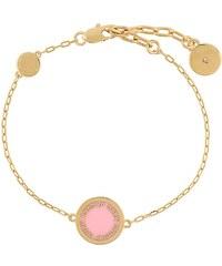 Marc Jacobs logo disc bracelet - Gold cb37e4a09e