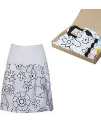 73c87e54673 Radka Kudrnová Těhotenská Mámalovaná sukně
