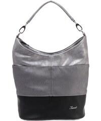 D 207 Fekete-Szürke-Ezüst Karen rostbőr női táska. 12 990 Ft. Raktáron  1744a50709