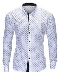 7c83ac41d8b5 Ombre Clothing Pánska košeľa Juelz biela