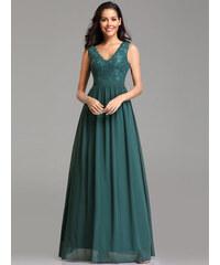 6df13b3e8ef Ever Pretty zelené šaty s krajkou 7577