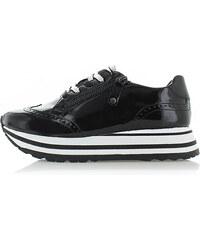 Tamaris Fekete platform tornacipő 23701 165bb26e8d