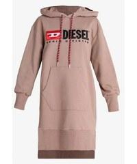 Dámská Diesel mikina D ilse C Abito růžová 00SPB8 0CATK 477abd43da