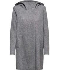 Only Otw Long light Manteau Coat Melange Gris Cc Hooded Grey Femme Onlmaddie rqgxXr