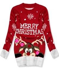 b100f97770e5 Trendovo Červený sveter Merry Christmas