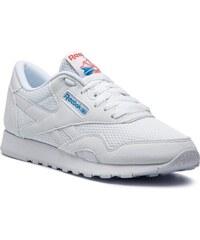 Cipő Reebok - Cl Nylon Txt CN6684 White Blue Neon Red 28f8b010cc