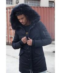 Pánska čierna bunda na zimu Sixth June Lining Fur Parka 3dfb34ddc23