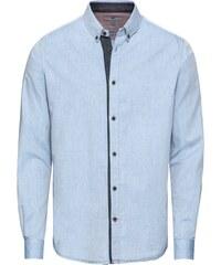 TOM TAILOR Košile  floyd printed basic shirt  tmavě modrá - Glami.cz 8f7cae0d8c