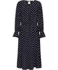 7192df3aa8 TOM TAILOR DENIM Ruha 'dotted midi dress' Fekete, ...