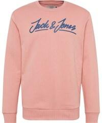 JACK   JONES Mikina  JORART EMPIRE SWEAT CREW NECK  modrá   růžová 0b8627e84b4