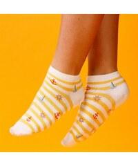 e663505d36d Dámské ponožky Supa! Sox! Marine Yellow (JP6505)