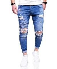 Behype Pánské roztrhané džíny JN-3296 7c1a806d80