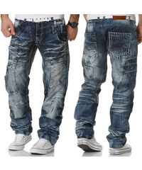 KOSMO LUPO kalhoty pánské KM040 jeans džíny ad3e072f51