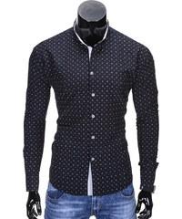 Ombre Clothing Pánská námořnická košile slim fit Juelz černá. 599 Kč 57abc22274