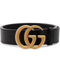Gucci black Marmont leather GG logo belt 078aaf7ce5e